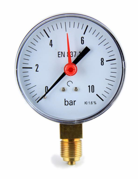 "MANOMETER B 100mm 0-10 1/2"" ALT pilt"