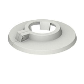 Picture of PLASTIKROSETT 12mm VALGE