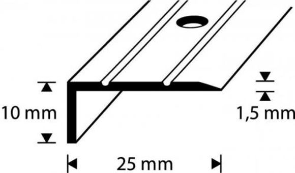 Picture of ASTMESERVALIIST D1-1,8M 25x10MM HÕBE DIONE