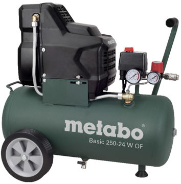 Picture of KOMPRESSOR METABO BASIC 250-24W ÕLIVABA