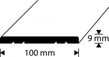 Picture of LÄVEPAKK 100X9 1M TAMM SILE DIONE