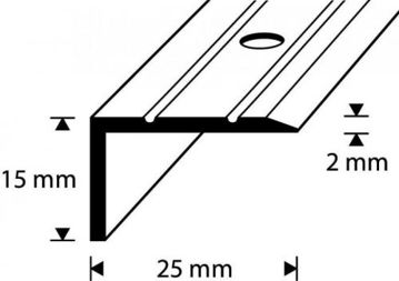 ASTMESERVALIIST D2-2.7M 25/15MM KULD DIONE pilt