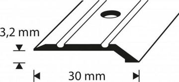 Picture of ÜLEMINEKULIIST C1-0.9M 3.2/30MM PRONKS DIONE