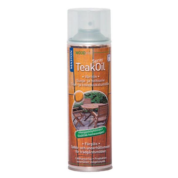 AEROS TEAK OIL SPRAY 500ML PR pilt