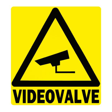 KLEEBIS VIDEOVALVE 20X20CM pilt