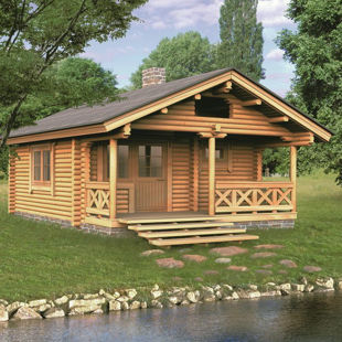 Picture for category Timber houses, timber garden furniture