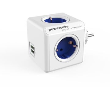 Picture of P.PESA PowerCube USB BLUE