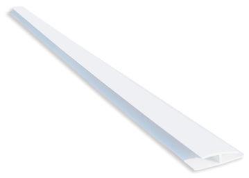 SEINAPANEEL PVC B3 ÜHENDUSLIIST VALGE 2.7M pilt