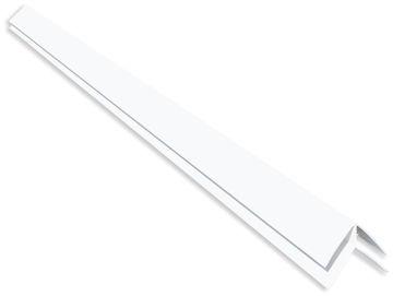 SEINAPANEEL PVC B1 VÄLISNURGALIIST VALGE 2.7M pilt