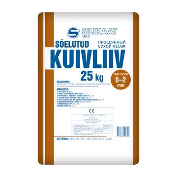 Picture of KUIVLIIV SILIKAAT 0-2MM 25kg