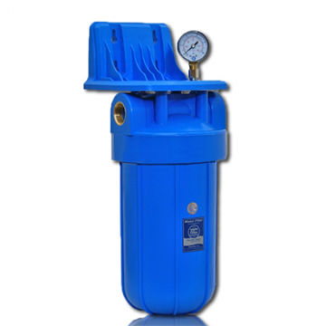 "VEEFILTER AQUAFILTER BIG BLUE MANOMEETRIGA 1"" pilt"