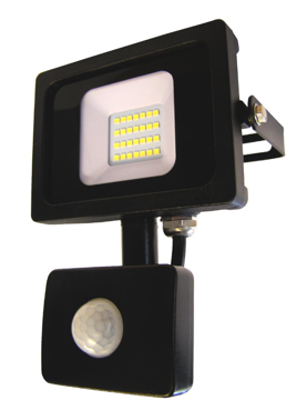 PROZEKTOR NOVIPRO LED 20W+ANDUR MUST IP65 pilt
