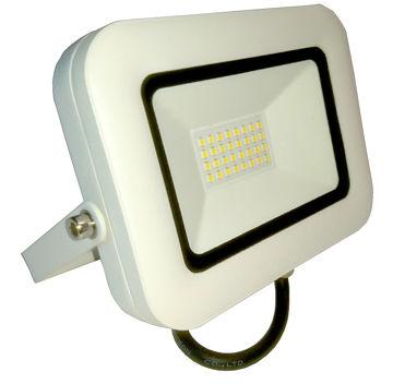 PROZEKTOR NOVIPRO LED 30W 2100lm IP65 ÕHUKE, VALGE pilt