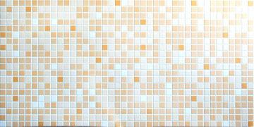PANEEL PVC 3150 MOSAIIK ORANZ 956X480mm pilt