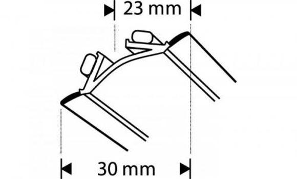 Picture of LIIST VANNIserva 2,5m VALGE