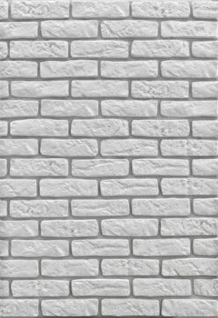 Picture of DEKORATIIVKIVI BRICK WHITE 0.85m2/PAKK