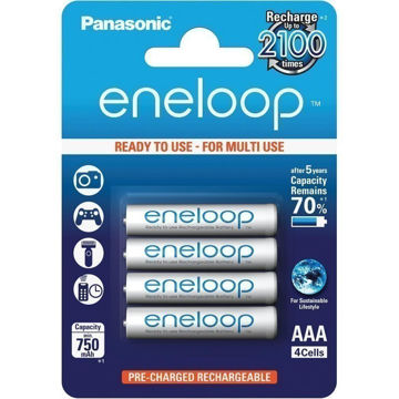 Picture of AKU PANASONIC ENELOOP AAA 750 4BP