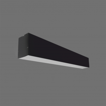 Picture of VALGUSTI LIMAN 40W LED 120 CM MUST 3600LM