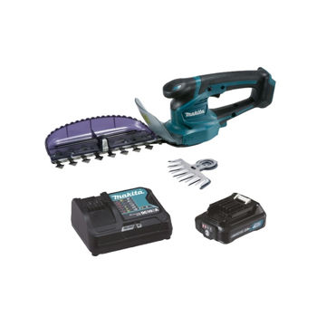 Picture of CORDLESS HEDGE TRIMMER+GRASS SHEARS MAKITA UH201DWAX 10,8V