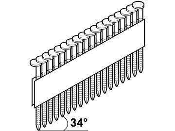 Изображение PÜSTOLINAEL 3,1X90 TÄK/LIIM D-PEA 34°M-FUSION/1240