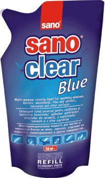 Picture of MULTI PURPOSE CLEANING LIQUID WITH SILICONE SANO SANOCLEAR REFILL 750ML