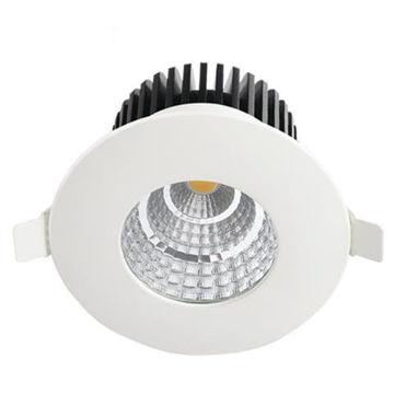RIPPLAEVALG.GABRIEL 6W LED IP65 410lm ÜMAR VALGE pilt