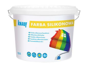 Picture of FAS.VÄRV KNAUF SILICON A 15L