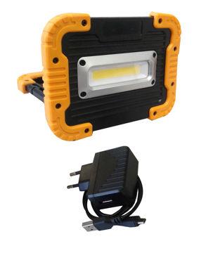 Изображение PROZEKTOR-AKUPANK 10W LED LAADIJAGA IP44 1000lm