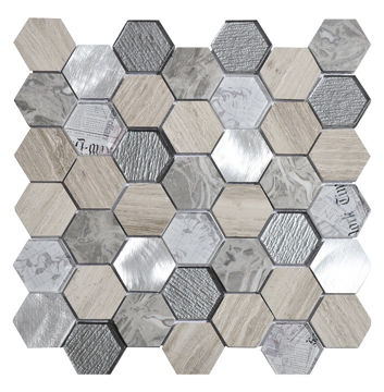 Picture of MOSAIIK 30x30 TOUR GREY
