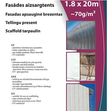 Picture of FASSAADIKATE VALGE 3.1X20M
