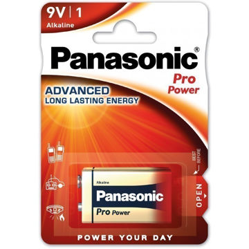 Picture of PATAREI PANASONIC 6LR61/1B 9V