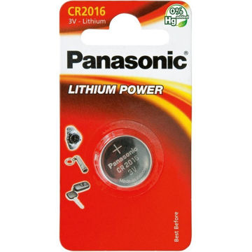 Изображение PATAREI PANASONIC CR2016/1B