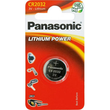 Изображение PATAREI PANASONIC CR2032/1B
