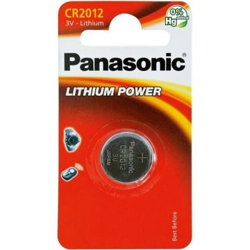 Изображение PATAREI PANASONIC CR2012/1B