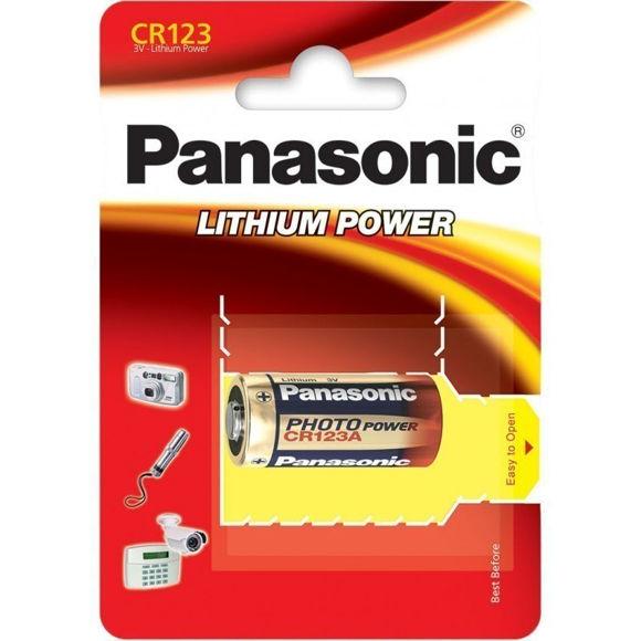 PATAREI PANASONIC CR123A/1B pilt