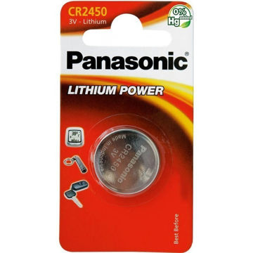 Изображение PATAREI PANASONIC CR2450/1B