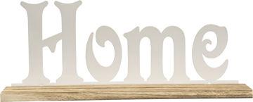 METALLRIIUL HAVEL HOME 42X16CM TAMM/VALGE pilt
