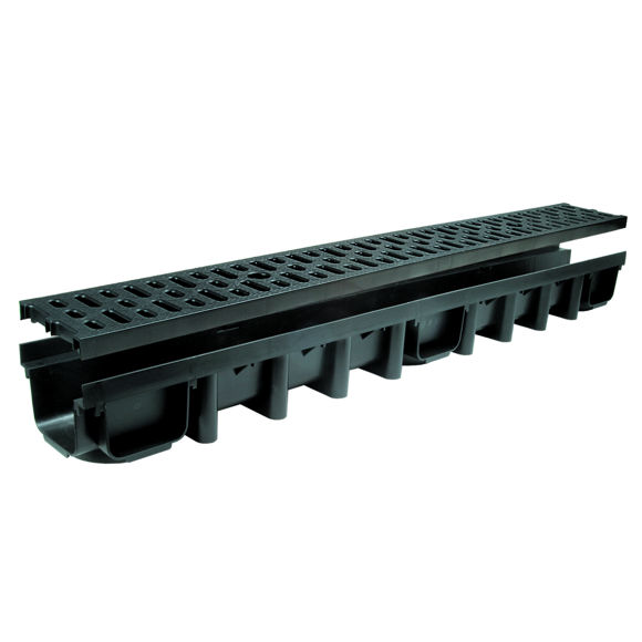 KANAL PVC + PVC REST 1000MM pilt
