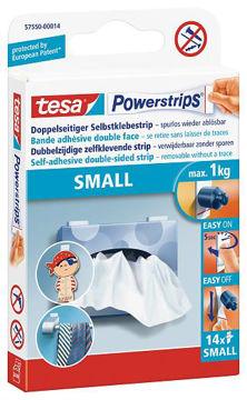 Picture of KAHEPOOLNE KLEEPS TESA POWERSTRIPS VÄIKE 14tk
