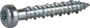 BETOONIKRUVI 6,3X40 ÜP/TX30/ZN/C1/ 100TK pilt