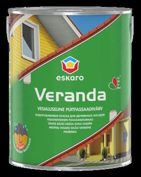 Изображение PUITFASSAADIVÄRV ESKARO VERANDA VALGE  2,85L
