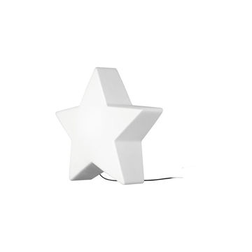 VALGUSTI STAR 1XE27 VALGE IP44  pilt
