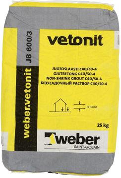 Picture of VALUBETOON WEBER JB 600/3 25kg