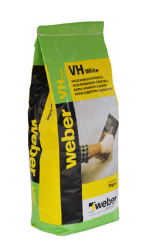 Picture of SEINAPAHTEL WEBER VH VALGE 2kg