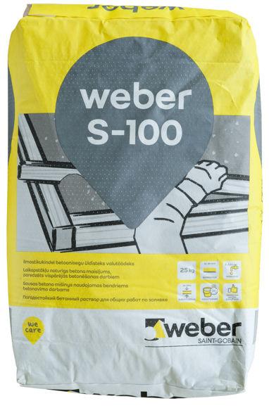 Picture of KUIVBETOON WEBER S-100 25kg