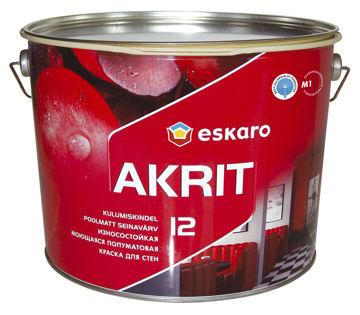 Picture of SEINAVÄRV ESKARO AKRIT-12 9,5L POOLMATT