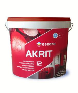 Picture of SEINAVÄRV ESKARO AKRIT-12 4,75L POOLMATT
