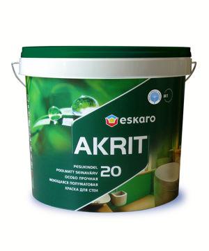 Picture of SEINAVÄRV ESKARO AKRIT-20 4,75L POOLMATT