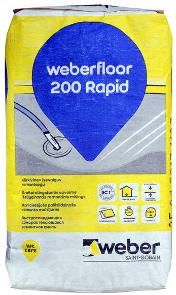 Изображение PÕR.SEGU WEBER FLOOR 200 RAPID 20kg