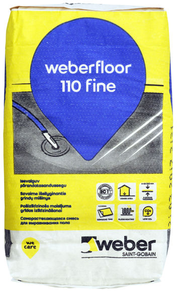 Picture of PÕR.SEGU WEBER FLOOR 110 FINE 20KG